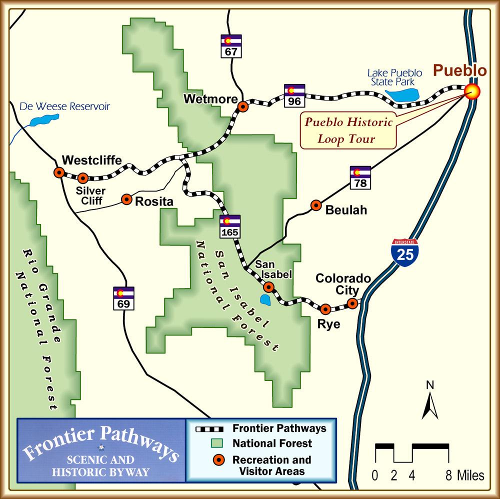 Frontier Pathways Map